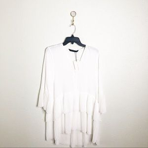 NWT Zara Shirt Tunic-Sz XS